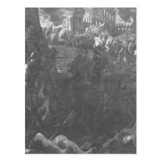 Taking Milan by Federico II Gonzaga by Tintoretto Postcard