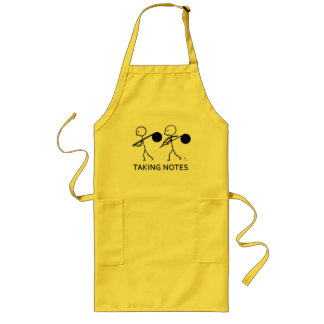 Taking Notes Long Apron