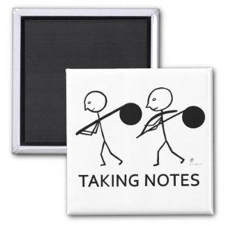 Taking Notes Magnet