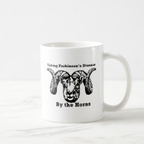 Taking Parkinson's Disease by the Horns Coffee Mug