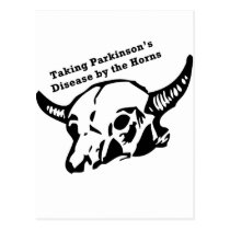 Taking Parkinson's Disease by the Horns Postcard