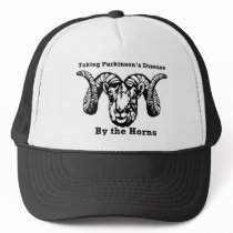 Taking Parkinson's Disease by the Horns Trucker Hat