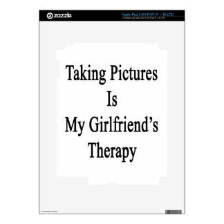 Taking Pictures Is My Girlfriend s Therapy iPad 3 Decal
