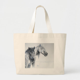 Taking the air large tote bag