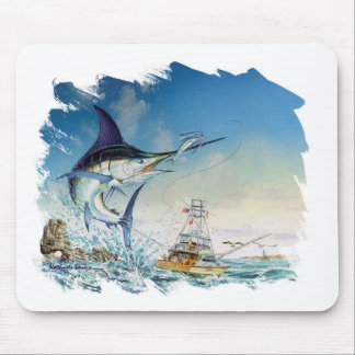 Taking the bait by Vathauer Studio Mouse Pad