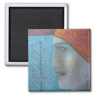 Taking the Plunge 2012 2 Inch Square Magnet