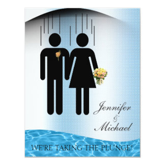 Taking the Plunge Card