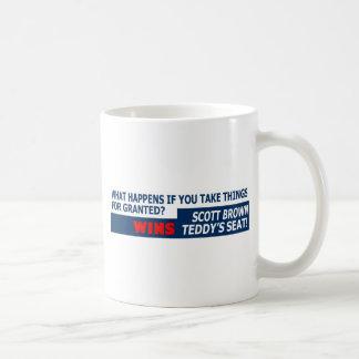 Taking things for granted coffee mug