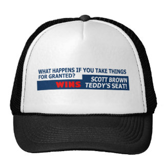 Taking things for granted trucker hat