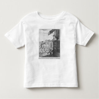 Taking up a bet, engraved by Camligue  c.1777 Toddler T-shirt