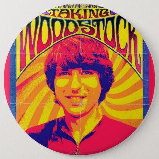 TakingWoodstockPoster Pinback Button