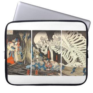Takiyasha the Witch and Skeleton Spectre laptop Laptop Sleeve