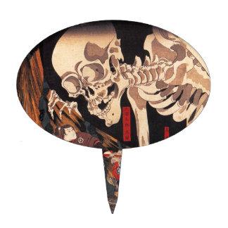 Takiyasha the Witch and the Skeleton Spectre Cake Topper