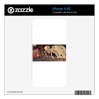 Takiyasha the Witch and the Skeleton Spectre Decal For The iPhone 4