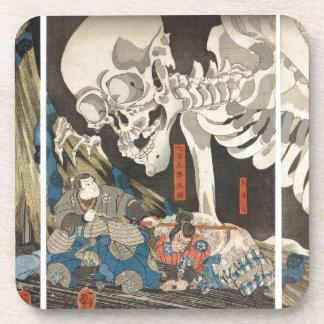 Takiyasha the Witch and the Skeleton Spectre Drink Coaster