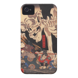 Takiyasha the Witch and the Skeleton Spectre iPhone 4 Case-Mate Case