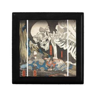 Takiyasha the Witch and the Skeleton Spectre Jewelry Box