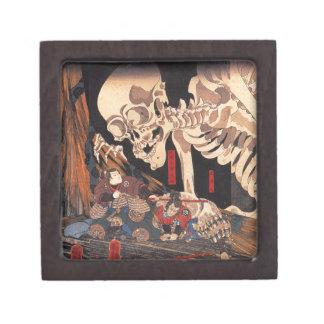 Takiyasha the Witch and the Skeleton Spectre Keepsake Box