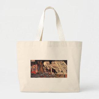 Takiyasha the Witch and the Skeleton Spectre Large Tote Bag