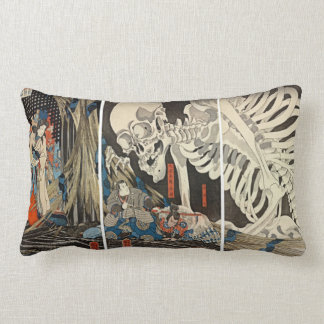 Takiyasha the Witch and the Skeleton Spectre Lumbar Pillow