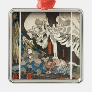 Takiyasha the Witch and the Skeleton Spectre Metal Ornament