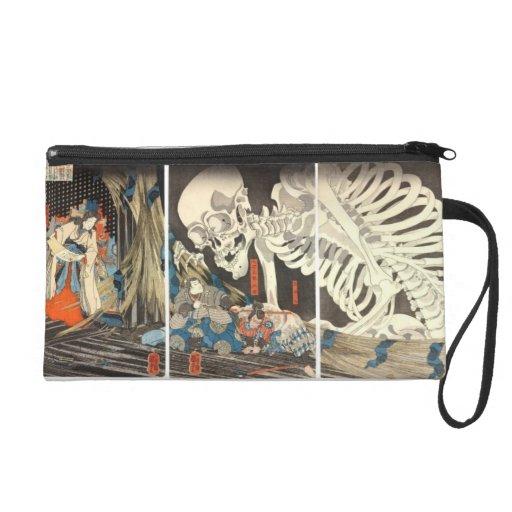 Takiyasha the Witch and the Skeleton Spectre purse Wristlet Clutches