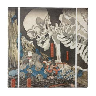 Takiyasha the Witch and the Skeleton Spectre Tile