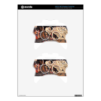 Takiyasha the Witch and the Skeleton Spectre Xbox 360 Controller Decal