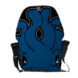 Tako (Blue) Messenger Bag