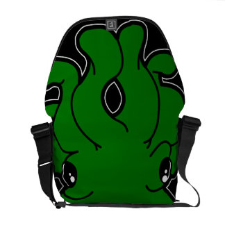 Tako (Green) Messenger Bag