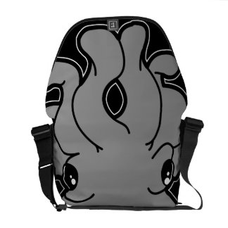 Tako (Grey) Messenger Bag