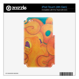 Tako IPOD 4th Gen Skin iPod Touch 4G Decals
