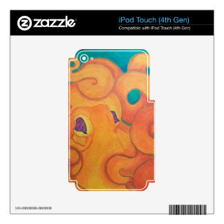 Tako Skin For iPod Touch 4G