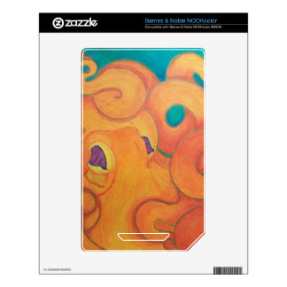 Tako Skins For The NOOK Color