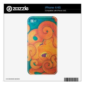Tako Skin for Iphone 4S