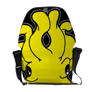 Tako (Yellow) Messenger Bag