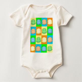 TakoPopArt Baby Bodysuit