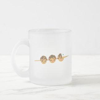 Takoyaki Frosted Glass Coffee Mug