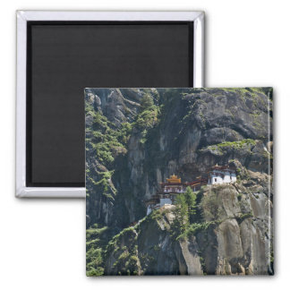 Taktsang Monastery on the cliff, Paro, Bhutan Magnet