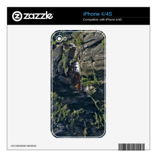 Taktsang Monastery on the cliff, Paro, Bhutan Decals For The iPhone 4