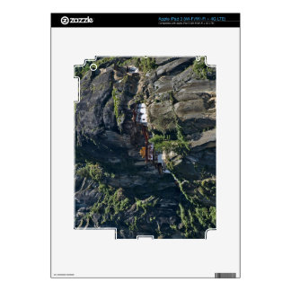 Taktsang Monastery on the cliff, Paro, Bhutan Decals For iPad 3