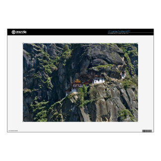 Taktsang Monastery on the cliff, Paro, Bhutan Decal For Laptop