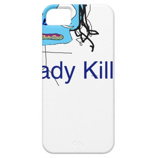 Tal señora asesino iPhone 5 protectores