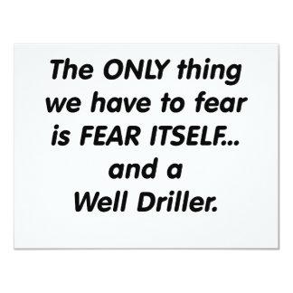 taladradora bien del miedo invitacion personalizada