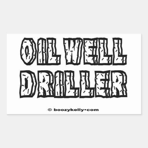 Taladradora del pozo de petróleo, perforación, ace rectangular altavoces