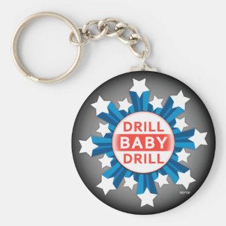Taladro del bebé del taladro llavero personalizado