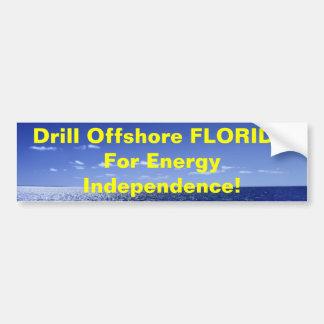 Taladro la FLORIDA costera para Energ… Pegatina Para Auto