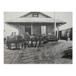 Talala Depot Postcard