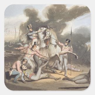 Talavera, el 28 de julio de 1809, 'de las pegatina cuadrada