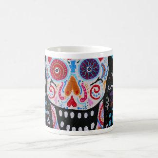 TALAVERA SKULL DIA DE LOS MUERTOS COFFEE MUG